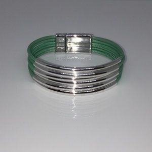 Multi-strand Genuine Leather Cuff Bracelet